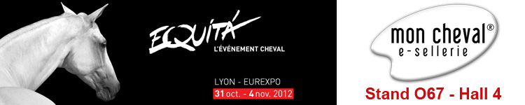 Mon Cheval à EquitaLyon stand o67, hall 4