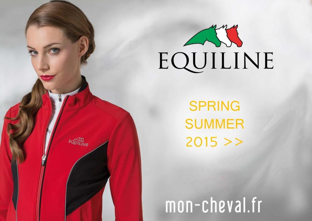 Printemps été Equiline 2015 sur Mon-Cheval.fr