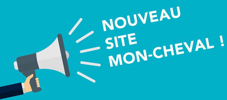 Nouveau site Mon Cheval